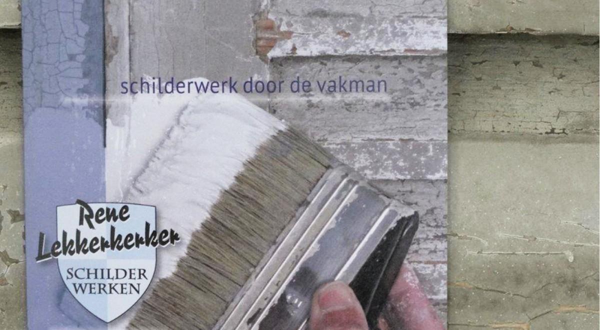 Rene Lekkerkerker Schilder Nieuwerbrug Woerden