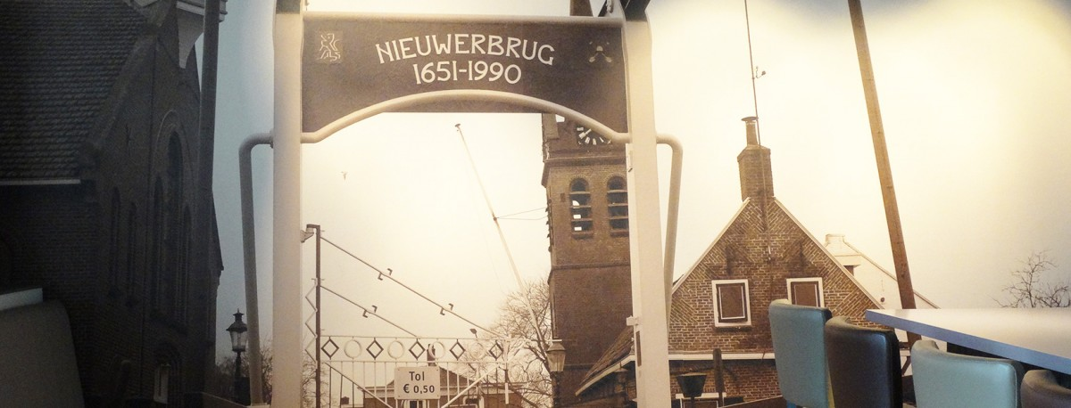 Rene Lekkerkerker Behang schilder Nieuwerbrug