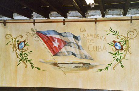 Rene Lekkerkerker Schilder-Nieuwerbrug Cuba muurschildering Restaurant